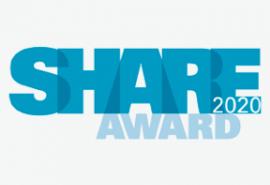 Inschrijving SHARE AWARD 2020 gestart: innovatieve bedrijven, koplopers & pioniers gezocht!