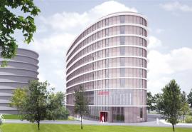 Hotel en bedrijfsgebouw 1ste nieuwe vestigers op Schiphol Trade Park